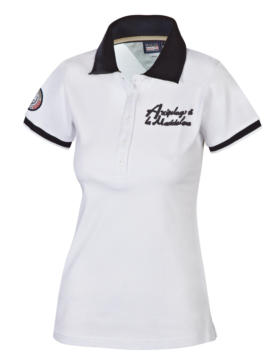 letita polo women white